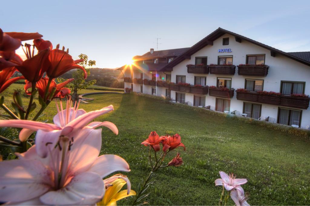 Hotel Bayerischer Wald Binder in Büchlberg mit toller Aussicht über den Bayerischen Wald