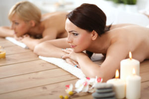 The Wellness Hotel Binder in the Bavarian Forest is equipped with several saunas and a swimming pool.