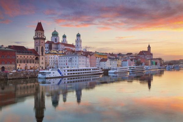 Passau in Niederbayern