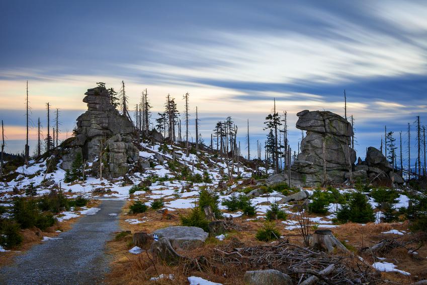 Dreisessel als Aussichtspunkt im Bayerischen Wald