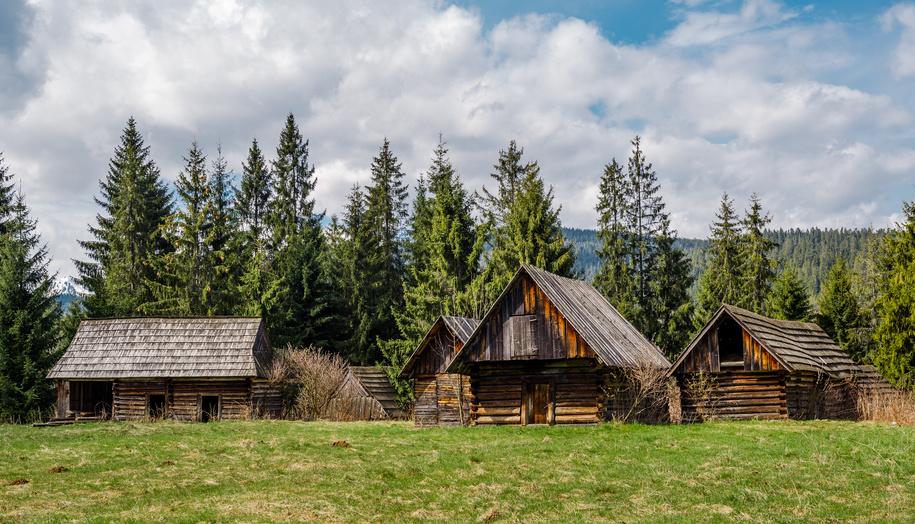 Verlassene Dörfer im Bayerischen Wald