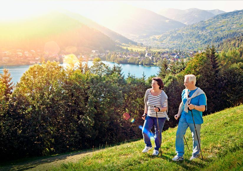 Nordic Walking Urlaub im Bayerischen Wald im Hotel Binder