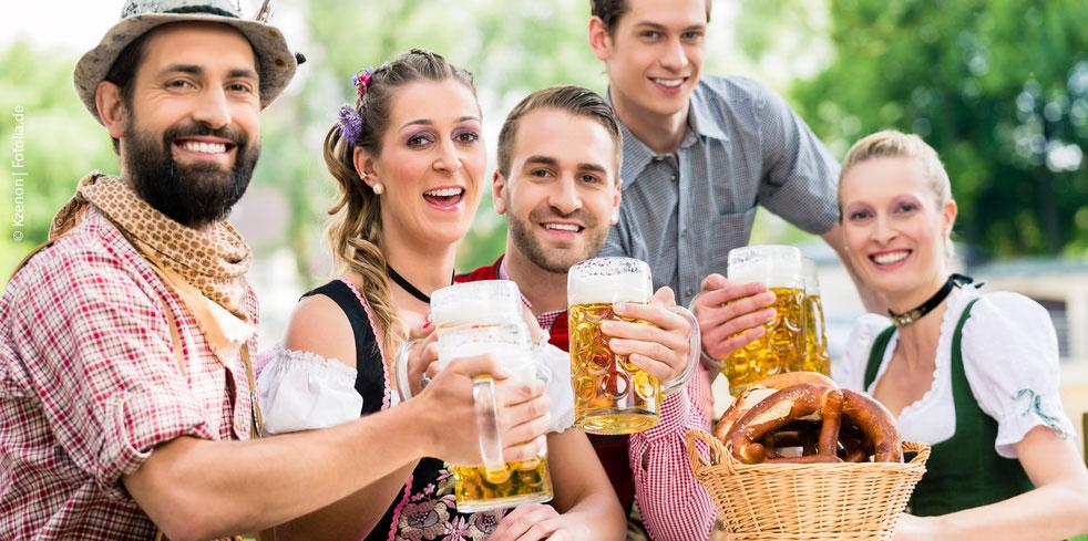 Biergärten in Passau und Umgebung für Urlaub im Bayerischen Wald und Passauer Land