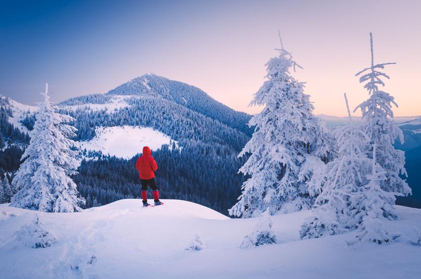 Schneeschuhwandern und geführte Schneeschuhtouren: Winterurlaub im Hotel Bayerischer Wald Binder nahe Passau.