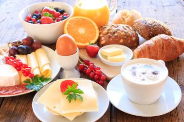 Frühstücksbuffet im Hotel Binder