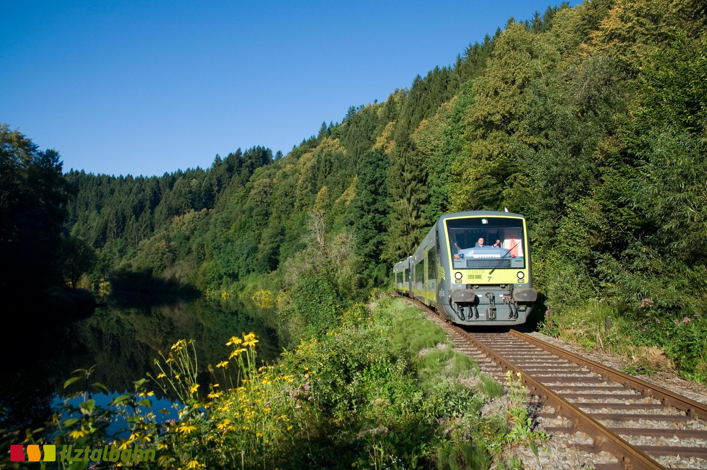 Vom Hotel Binder den Bayerischen Wald mit der Ilztalbahn erkunden