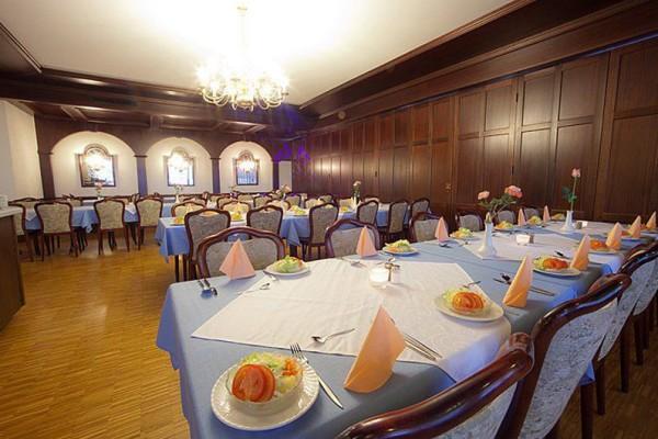 Das Hotel Bayerischer Wald bietet einen Festsaal für 50 bis 100 Gäste.