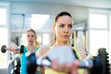 Fitnessraum im Hotel Binder Bayerischer Wald, dem Fitnesshotel bei Passau