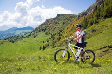 E-Bike mieten im Hotel Binder Bayerischer Wald, der eBike Verleih bei Passau